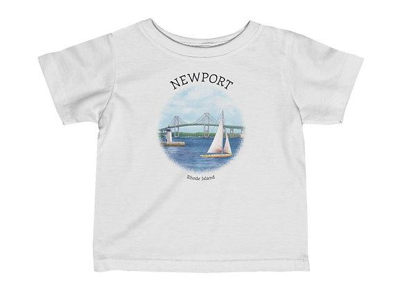Newport RI Infant Tee