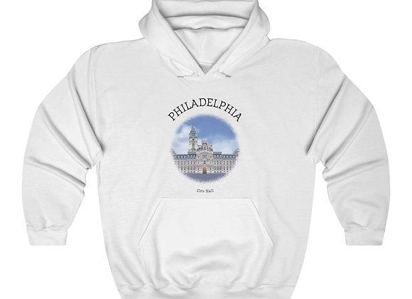 Philadelphia City Hall Unisex Hooded Sweatshirt