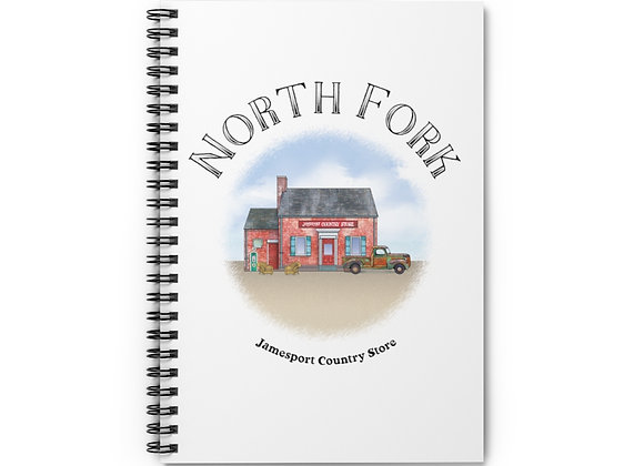 Jamesport Country Store Spiral Notebook