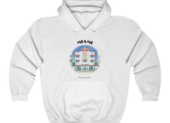 Art Deco Unisex Hooded Sweatshirt