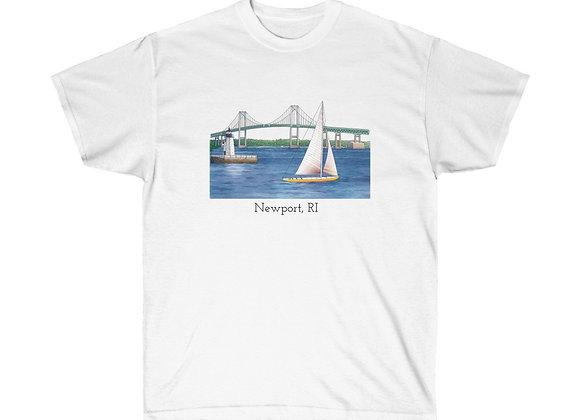 Unisex Cotton Tee - Newport, RI