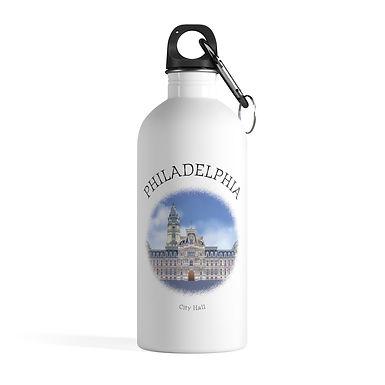 Philadelphia City Hall Water Bottle