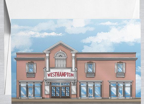 Westhampton Theater Notecard
