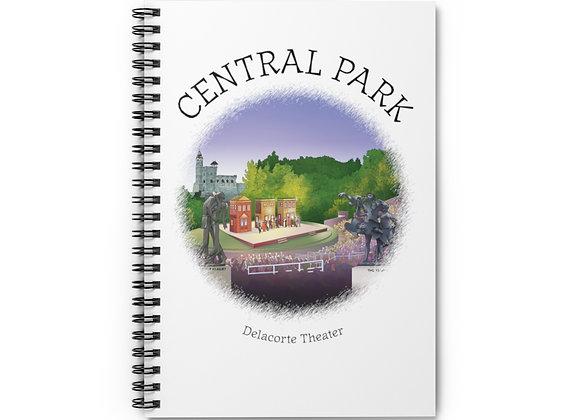 Delacorte Theater Spiral Notebook