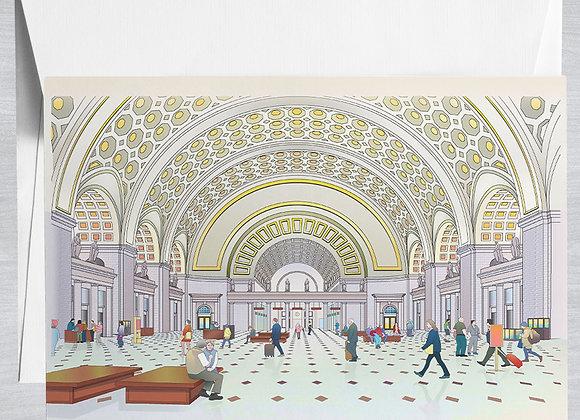 Washington Union Station Notecard
