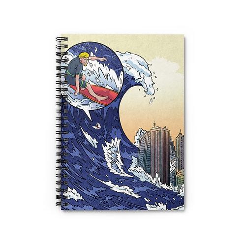 Notebook - 'Tsunami Surfing'