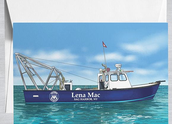 Lena Mac Notecard