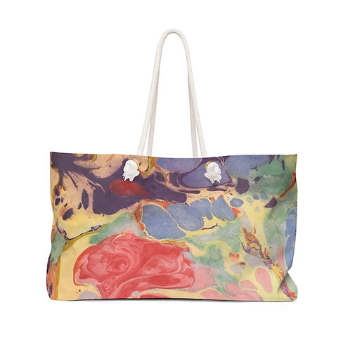 """Weekender Bag - """"Coral Reef"""" by Amy Worth"""