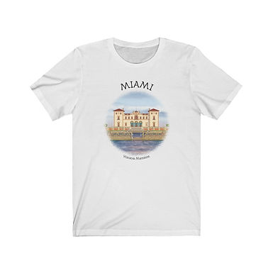 Vizcaya Mansion - Unisex Short Sleeve Tee