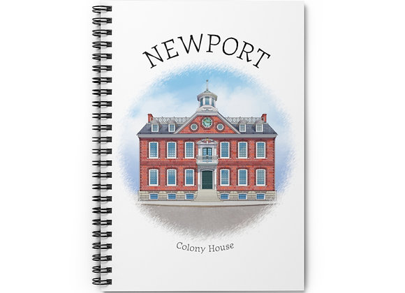 Colony House Spiral Notebook