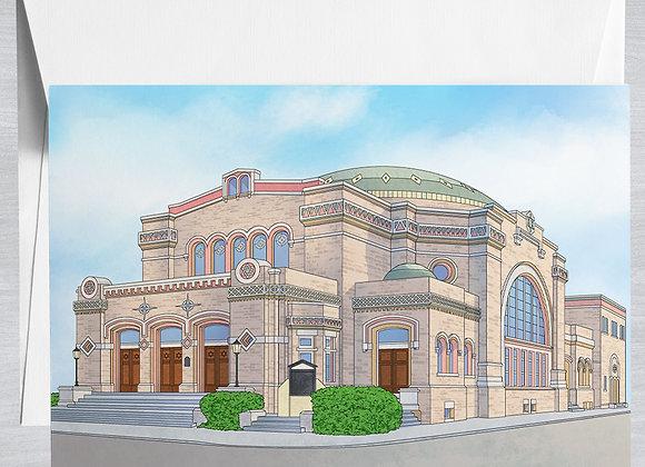 Touro Synagogue Notecard