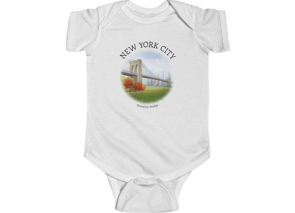 Brooklyn Bridge Onesie