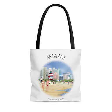 Beaches of Miami Tote