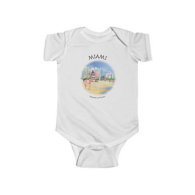 Beaches of Miami Onesie