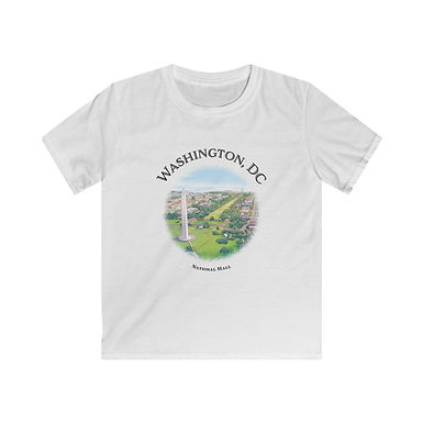 National Mall Kids Softstyle Tee