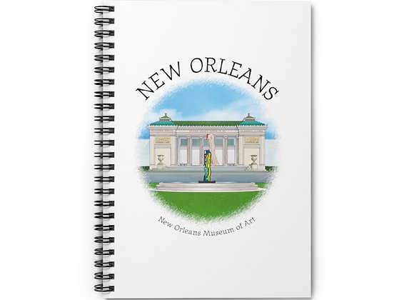 New Orleans Museum of Art Spiral Notebook