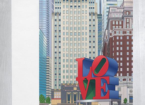 LOVE Park Notecard