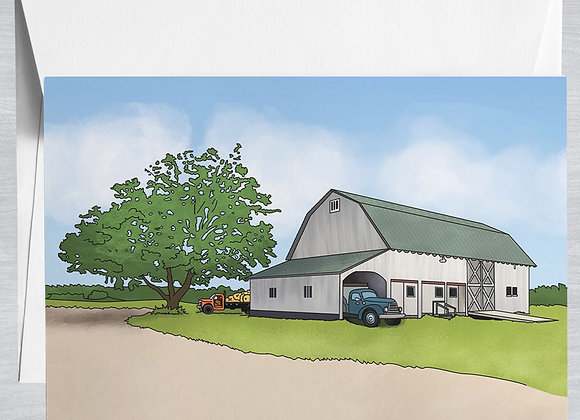Hallockville Farm Notecard