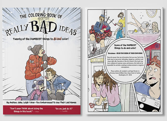 The Coloring Book of Really Bad Ideas