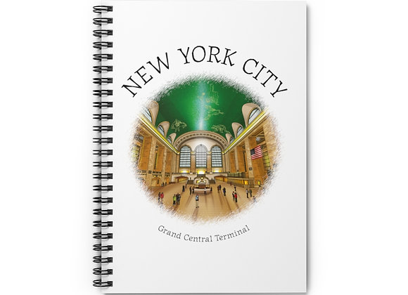 Grand Central  Terminal Spiral Notebook