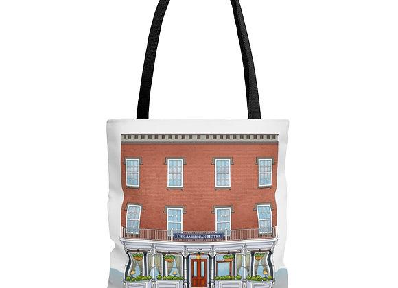 American Hotel Tote Bag