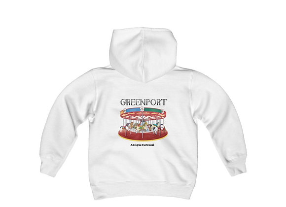 Greenport Carousel Youth Sweatshirt