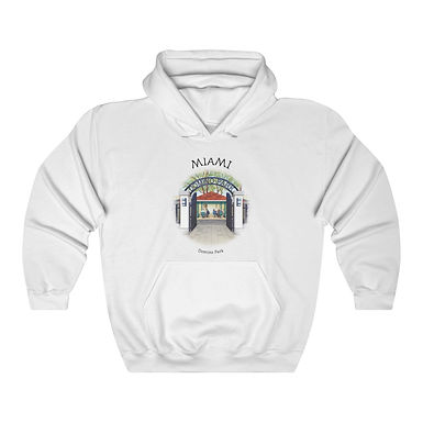 Domino Park Unisex Hooded Sweatshirt