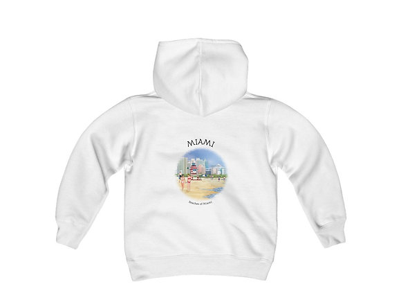 Beaches of Miami Youth Sweatshirt