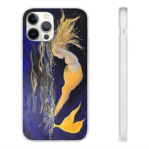 "Phone Case - ""Yellow Mermaid"" by Isabelle Haran-Leonardi"