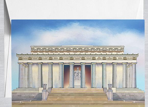 Lincoln Memorial Notecard