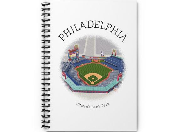 Citizen's Bank Park Spiral Notebook