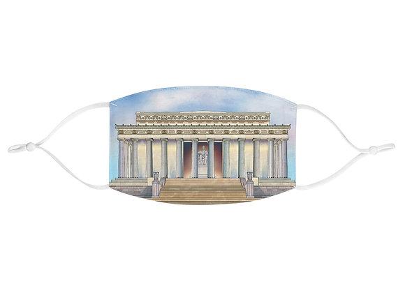 Lincoln Memorial Face Mask