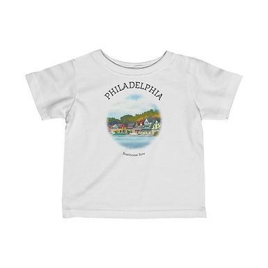 Boathouse Row Infant Tee
