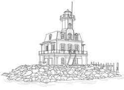 Drawing -The Bug Lighthouse