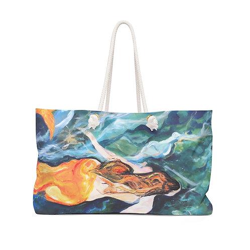"""Weekender Bag - """"Lianes Mermaid"""" by Isabelle Haran-Leonardi"""