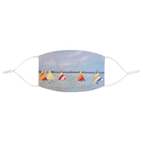"""Face Mask - """"Sun, Fish & Sail"""" by Isabelle Haran-Leonardi"""