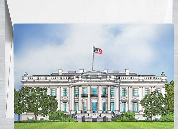 White House Notecard
