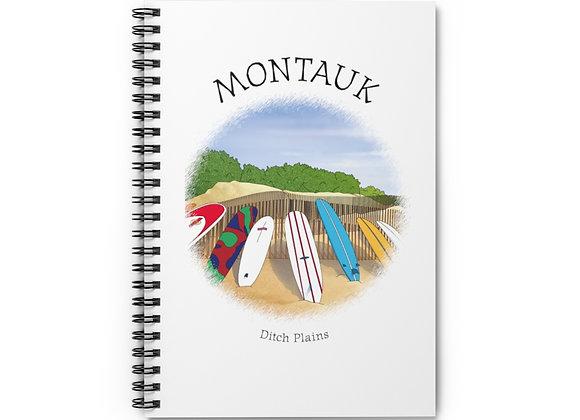 Ditch Plains Spiral Notebook