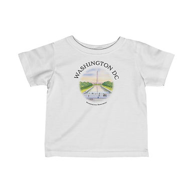 Washington Monument Infant Tee