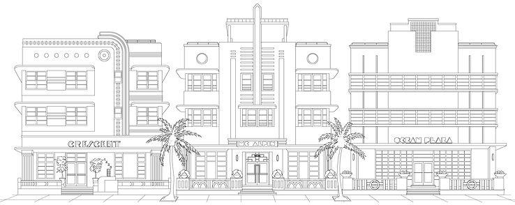 Miami Beach Art Deco Hotels