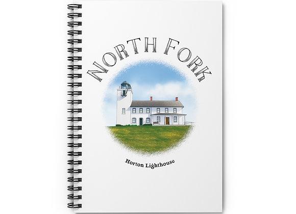 Horton Lighthouse Spiral Notebook