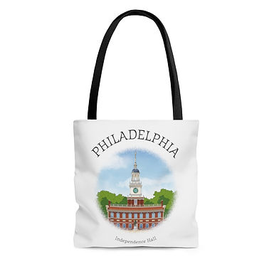 Independence Hall Tote