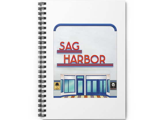 Sag Harbor Cinemas Spiral Notebook