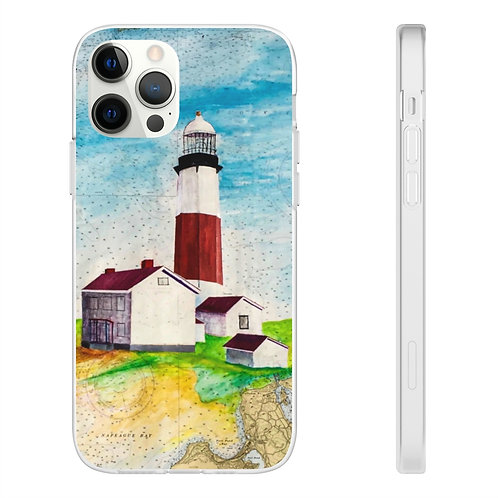 """Phone Case - """"Montauk Lighthouse"""" by Don Wilson"""
