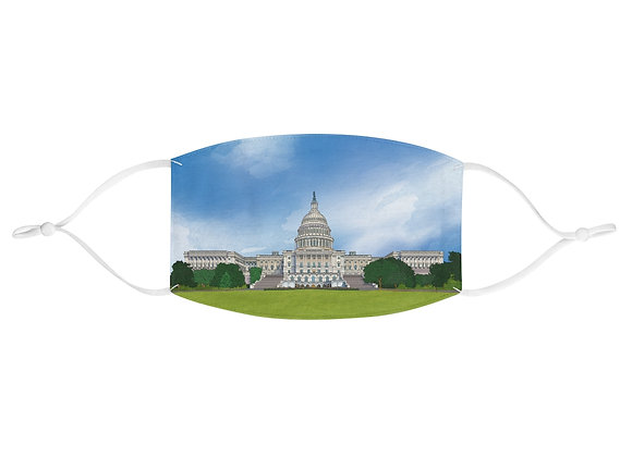 U.S. Capitol Fabric Face Mask