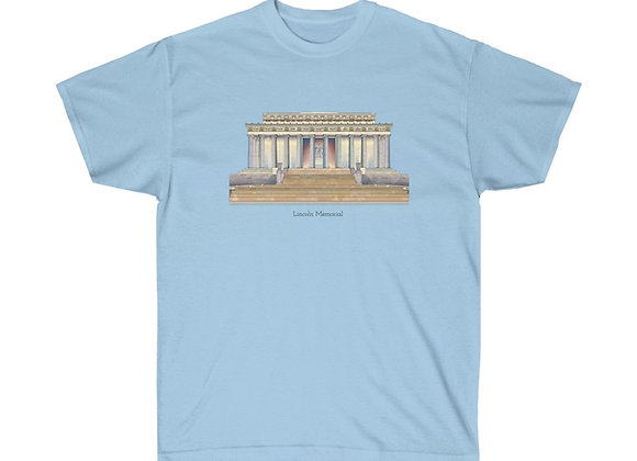 Lincoln Memorial  - DC Unisex Cotton Tee