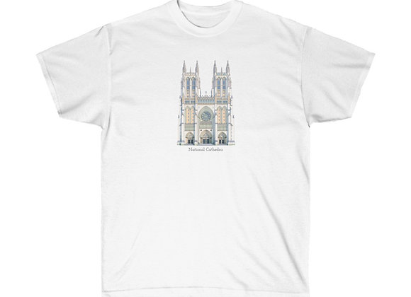 National Cathedral  - DC Unisex Cotton Tee