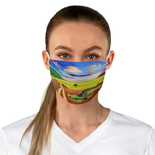 """Face Mask - """"The Veldt"""" by Deborah Lennek"""
