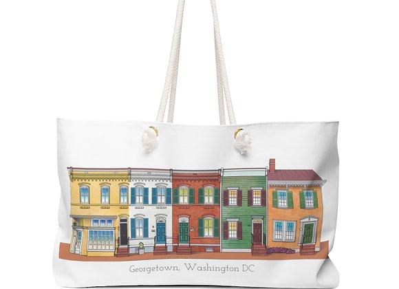 Weekender Bag - Georgetown Row Houses