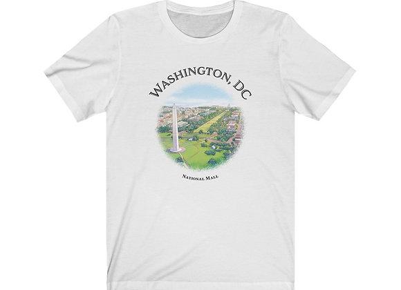 National Mall - Unisex Short Sleeve Tee